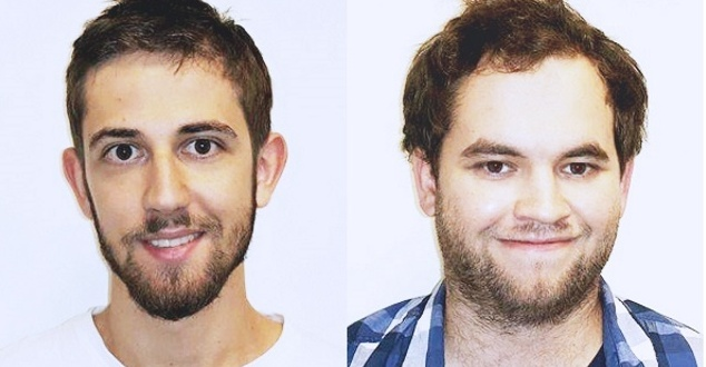 Od lewej Dawid Bonik i Łukasz Kąkol [fot. Spicy Mobile]