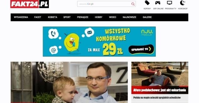 Wystartował nowy portal FAKT24.PL