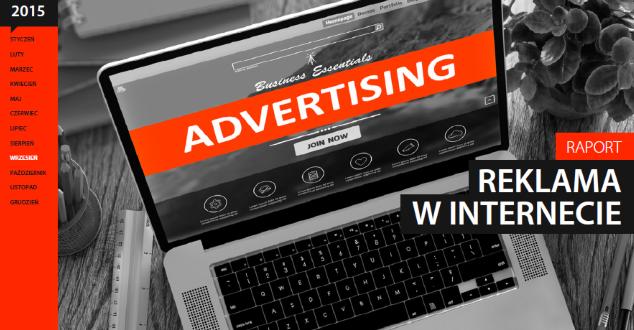 """Raport Interaktywnie.com """"Reklama w internecie 2015"""""""