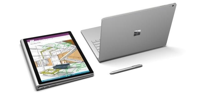 Surface Book (źródło Microsoft)