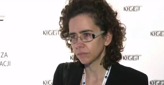 Na zdjęciu Anna Streżyńska podczas IV Forum Gospodarcze TIME (źródło: YouTube/KIGEiT)