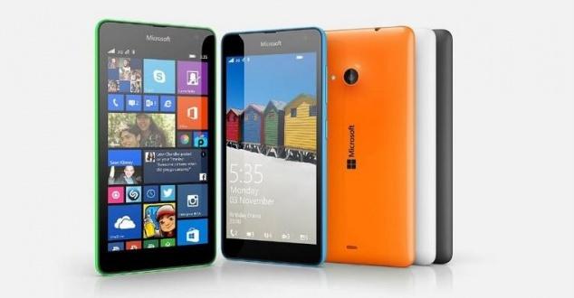 Microsoft Lumia, Fot. Microsoft