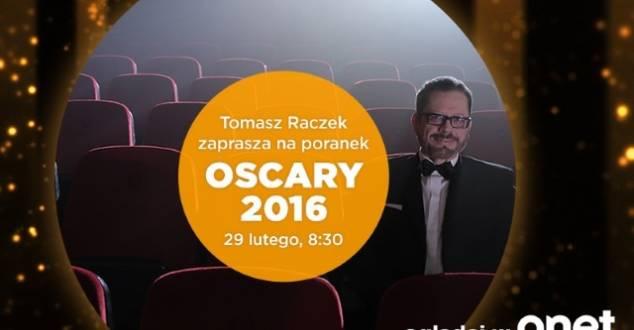 Tomasz Raczek i Anna Tatarska gospodarzami oscarowego poranka w Onet.pl