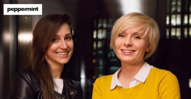 od lewej: Sabrina Kotkowska i Ewa Cymer
