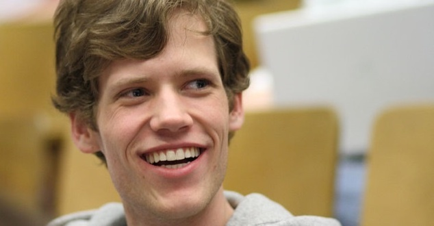 "4chan founder ""moot"" (Christopher Poole) at ROFLCon II (fot. Sage Ross)"