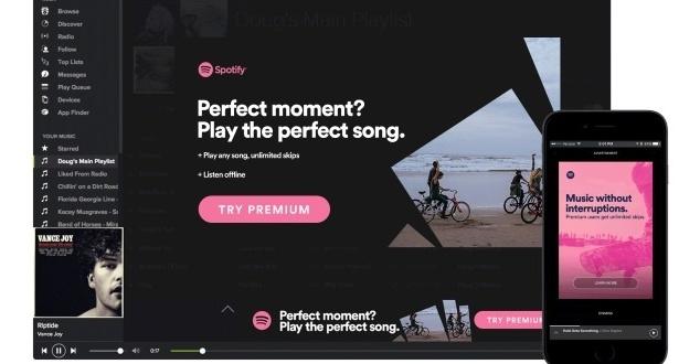 Spotify promuje możliwość darmowego korzystania z platformy streamingowej