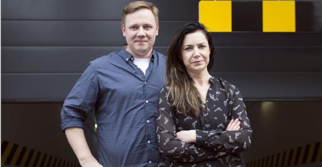 Maciek Kozina i Joanna Biernacka (fot. Isobar Polska)