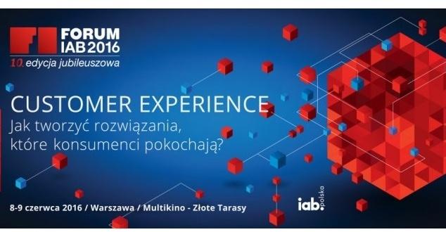 10.,jubileuszowa edycja Forum IAB już 8 i 9 czerwca br. w Złotych Tarasach