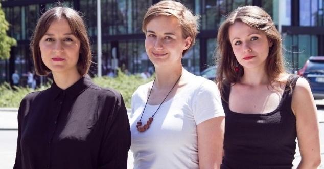 Aleksandra Berka, Monika Pigan i Katarzyna Szczepaniak (fot. Contented by They.pl)