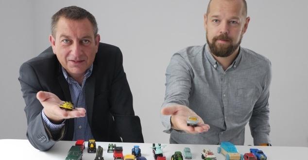 od lewej Grzegorz Dąbkowski, dyrektor sprzedaży i Łukasz Nowak, dyrektor-operacyjny Motsy