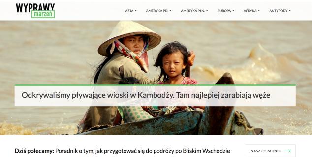Startują Wyprawy Marzeń - portal podróżniczy Tomasza Bonka i Marty Smagi