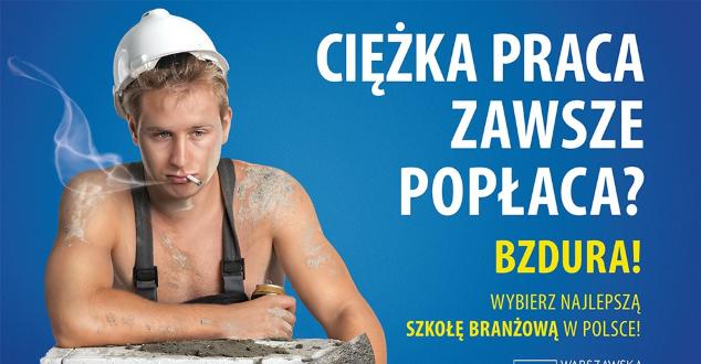 Warszawska Szkoła Reklamy przeprasza za... reklamy
