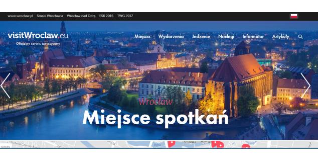 Nowy serwis turystyczny Wrocławia jest czytelny, przejrzysty, ale czy zachęca do odwiedzenia miasta?