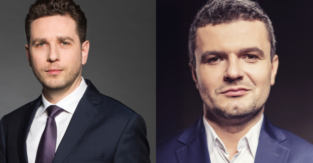 Tomasz Gaweł i Marcin Hajek (fot. Grupa Onet - RAS Polska)