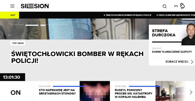 Silesion.pl to serwis informacyjny w oprawie magazynowej. Czy to dobre połączenie?