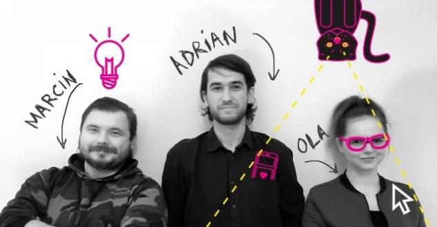 Od lewej: Aleksandra Grunt-Mejer, Adrian Czajka oraz Marcin Koryszewski (fot. FFW Communication)