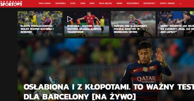 Przegladsportowy.pl w nowej odsłonie. Jak oceniają go eksperci?