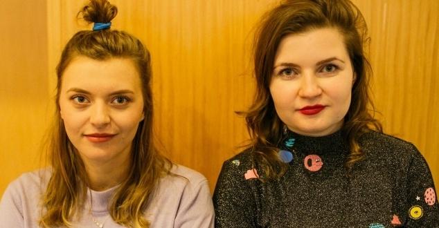 na zdjeciu: Joanna Wojniłko i Magda Ciereszko