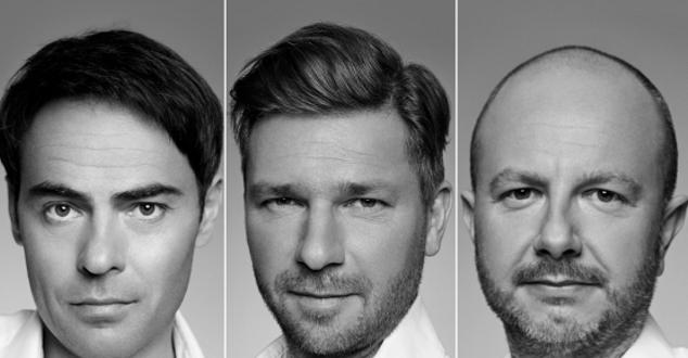 na zdjęciu od lewej Marek Żołędziowski, Jakub Potrzebowski, Maciej Hutyra (fot. Group One)