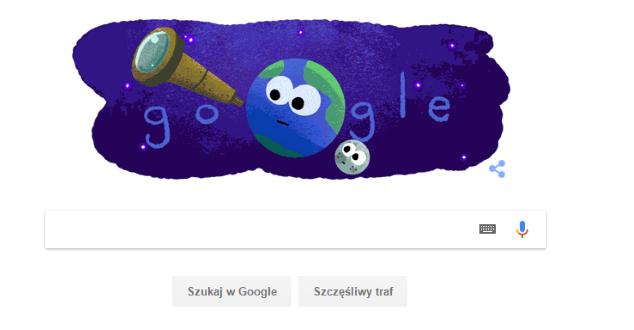 """Google świętuje """"exoplanet discovery"""" (23.02.2017)"""
