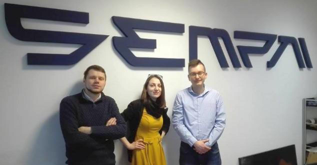 na zdjęciu: (od lewej) Paweł Grabowski, Monika Zahorowska i Mariusz Waszkiewicz
