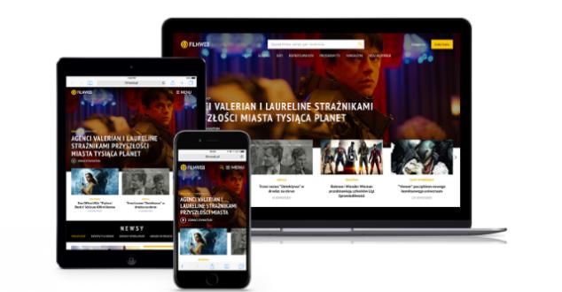 Wreszcie białe tło! Nowy Filmweb.pl prezentuje się bardzo dobrze