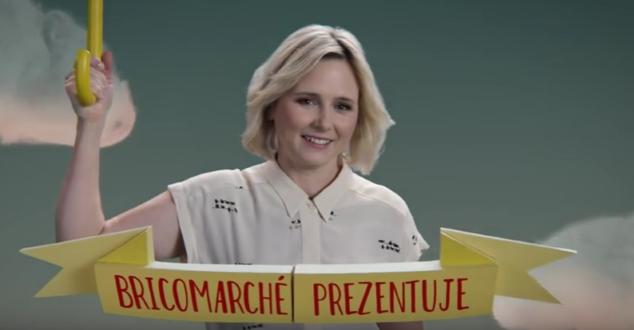 Maja Popielarska w kampanii sieci sklepów Bricomarche