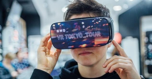 Kampania VR dla marki Adidas (fot. Dentsu Aegis Network)