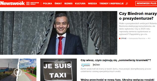Nowy Newsweek.pl jest... OK. Tylko tyle i aż tyle
