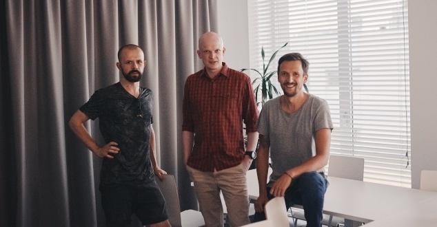 od lewej: Daniel Przygoda, Emil Tumiłowicz, Michał Klusek (fot. MEC)