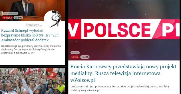 screen z portalu wpolityce.pl