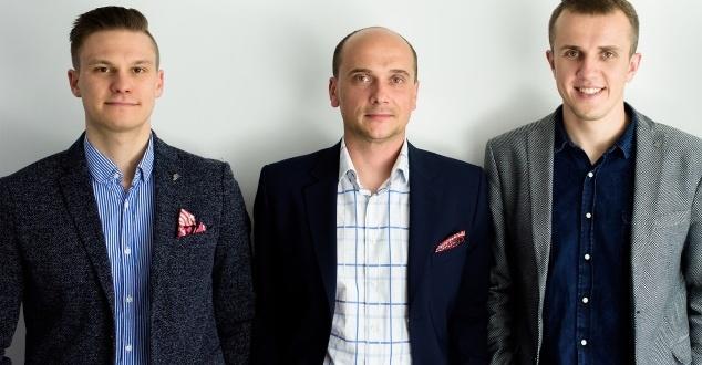 od lewej: Robert Stolarczyk, Michał Smajek, Krystian Kucharski (fot. PromoTraffic)