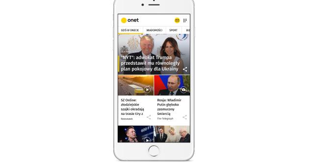 Onet - mobilna strona główna