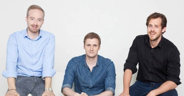 Od lewej Rubin Ritter, David Schneider, Robert Gentz (fot. Zalando Newsroom)