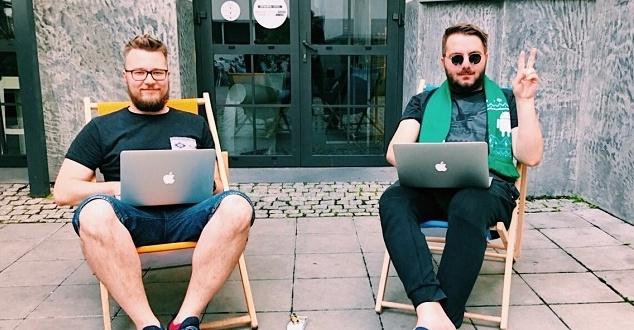 Mateusz Gaca i Michał Rudek (fot. 180heartbeats + JUNG v MATT)