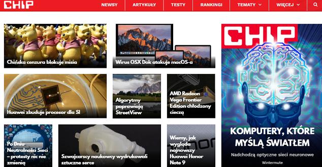 Chip.pl wystartował w nowej odsłonie. Eksperci oceniają go średnio...