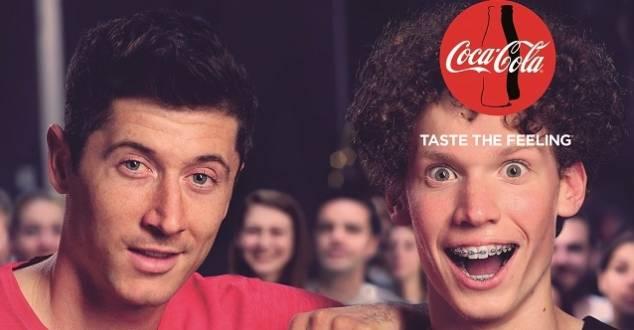 Robert Lewandowski w kampanii marki Coca-Cola Zero Cukru [WIDEO]