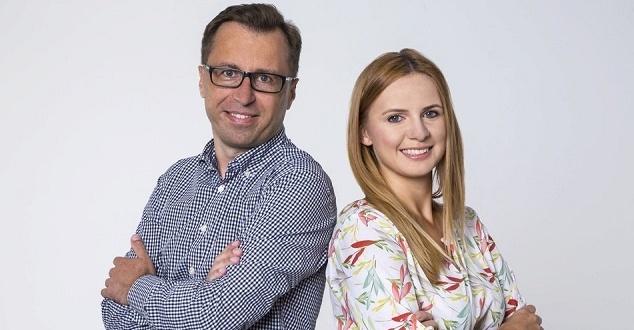 Rafał Kałęcki i Martyna Adamska (fot. Dentsu Aegis Network Polska)