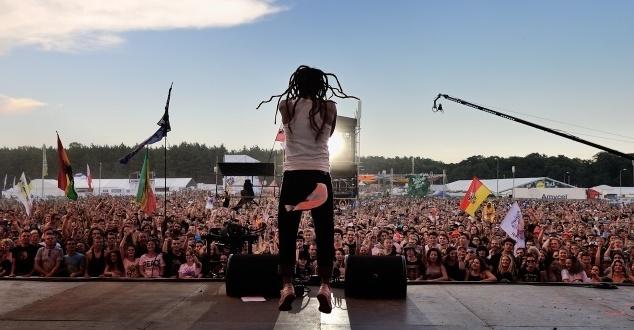 Na zdjęciu: Mesajah, fot. Paweł Krupka (źródło: Woodstockfestival.pl)