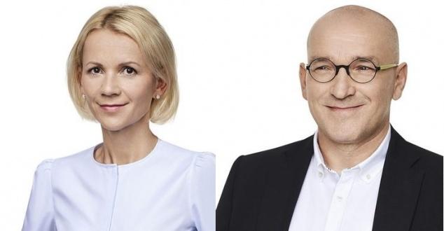 Anna Kaczmarska i Wojciech Fusek