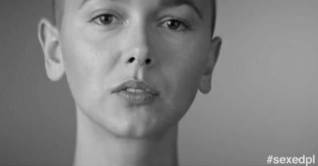 na zdjęciu Monika Brodka w kampanii #sexedpl (źródło: YouTube.com | sexedpl)