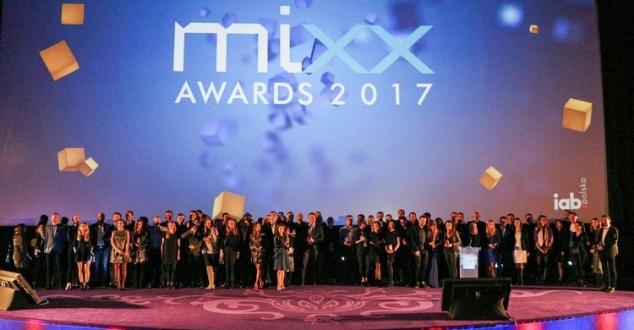 Zdjęcie z gali IAB MIXX Awards 2017. Fot. IAB Polska