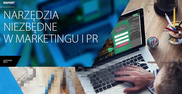 """Raport Interaktywnie.com """"Narzędzia niezbędne w marketingu i PR"""""""
