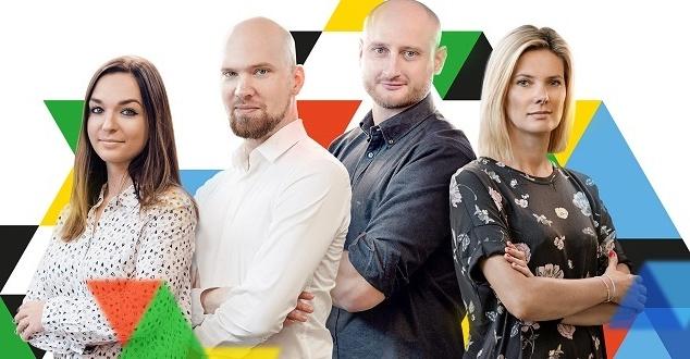 Od lewej: Malwina Wróblewska, Maciej Pietrukiewicz, Piotr Długołęcki, Monika Pruszczyńska