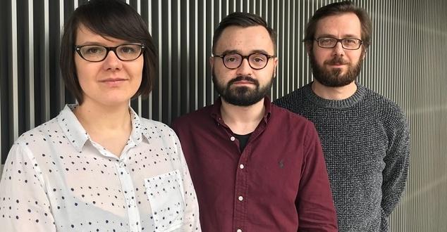 Od lewej: Natalia Ćwiek, Tomek Woźniak, Rafał Bauer (fot. Saatchi & Saatchi IS)