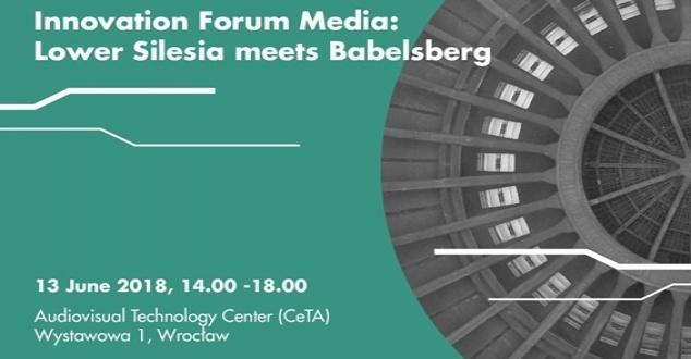 Wirtualna rzeczywistość, efekty specjalne i gry video, czyli Innovation Forum Media: Lower Silesia meets Babelsberg