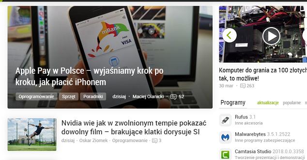 Dobreprogramy.pl po zmianie strony głównej. Jak oceniają ją specjaliści od UX?