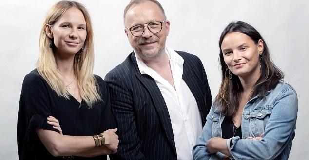 Agnieszka Klimczak, Rafał Baran i Natalia Drozdowska (fot. FCB Bridge2Fun)
