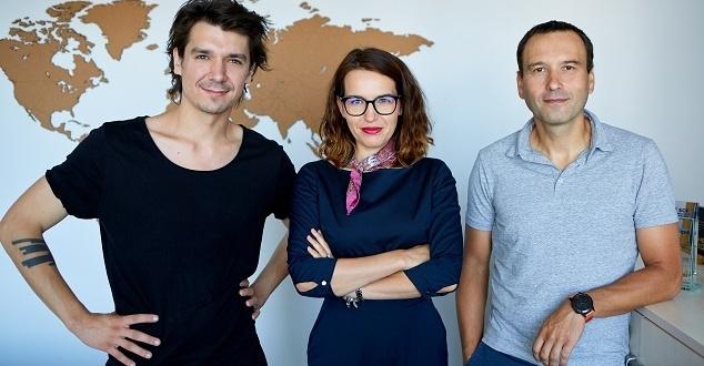 Od lewej: Maciej Gastol, Ewa Szmidt-Belcarz, Szymon Bujalski (fot. Empik)