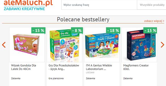 Grupa PWN uruchamia sklep z edukacyjnymi zabawkami dla dzieci